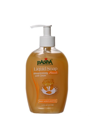 Honey and Almond Liquid Soap (1 Case)