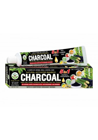 Charcoal Toothpaste - (1 pcs)